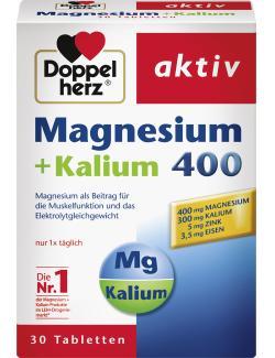 Doppelherz aktiv Magnesium + Kalium 400 Tabletten  (30 St.) - 4009932007121