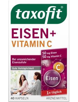 Taxofit Eisen + Vitamin C Kapseln  (40 St.) - 4008617030928