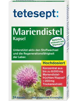 Tetesept Mariendistel Kapsel  (24 St.) - 4008491241106
