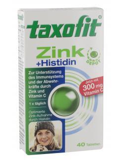 Taxofit Zink + Histidin und Vitamin C Depot Tabletten  (40 St.) - 4008617029618