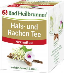 Bad Heilbrunner Hals- und Rachentee  (8 St.) - 4008137002658