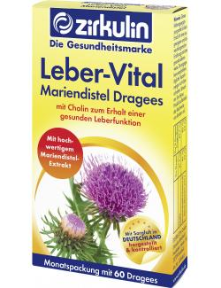 Zirkulin Leberschutz-Dragees 8,15 EUR/100 st