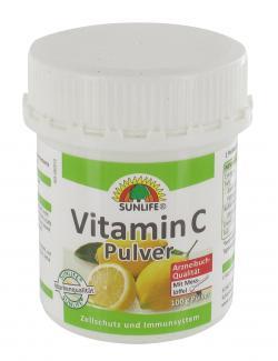 Sunlife Vitamin C Pulver  (100 g) - 4022679001160
