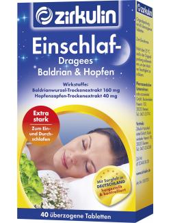 Zirkulin Einschlaf-Dragees Baldrian & Hopfen  - 4056500001708