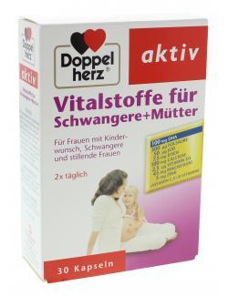 Doppelherz aktiv Vitalstoffe für Schwangere + Mütter  (30 St.) - 4009932007961