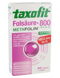 Taxofit Fols�ure + 800 Metafolin  - 4008617036005