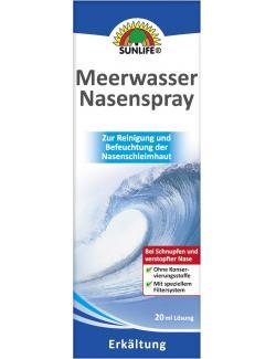 Sunlife Meerwasser Nasenspray  - 4022679114969