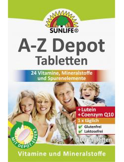Sunlife A-Z Depot Tabletten  - 4022679116543