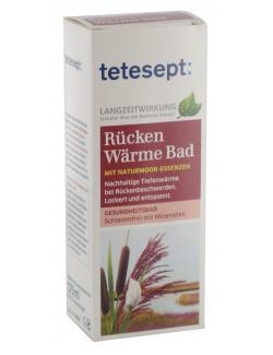 Tetesept Rücken Wärme Bad mit Naturmoor-Essenzen  (125 ml) - 4008491116282