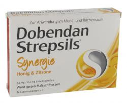 Dobendan Strepsils Synergie Honig & Zitrone Lutschtabletten  (24 St.) - 4042763414324