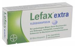 Bayer Lefax extra Flüssigkapseln  (20 St.) - 2000423672745