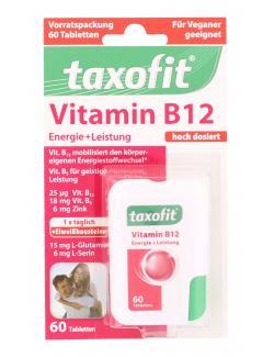 Taxofit Vitamin B12 Tabletten  (60 St.) - 4008617036357