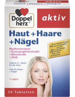 Doppelherz aktiv Haut + Haare + Nägel Tabletten  - 4009932008906