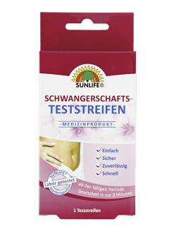 Sunlife Schwangerschafts-Teststreifen  (1 St.) - 4022679114549