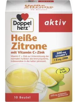Doppelherz aktiv Hei�e Zitrone mit Vitamin C+Zink  - 4009932009644