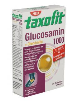 Taxofit Glucosamin 1000 + Chondroitin  - 4008617036487
