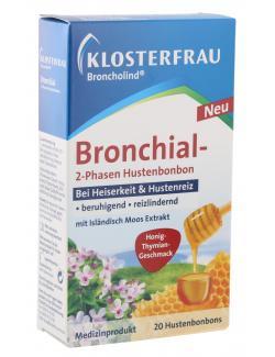 Klosterfrau Bronchial 2-Phasen Hustenbonbon Honig-Thymian-Geschmack  - 4008617132905