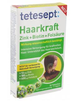 Tetesept Haarkraft Zink + Biotin +  Fols�ure  - 4008491115681