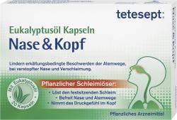 Tetesept Schnupfen Kapseln forte Nase & Kopf  (20 St.) - 4008491116138