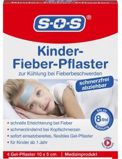SOS Kinder-Fieber-Pflaster  (4 St.) - 4036581530670