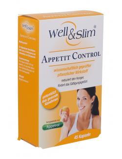 Well & Slim Appetit Control Kapseln  - 4036581527526
