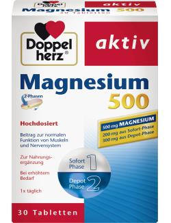 Doppelherz aktiv Magnesium 500 Tabletten  - 4009932007039