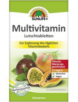 Sunlife Multivitamin Lutschtabletten  - 4022679119841