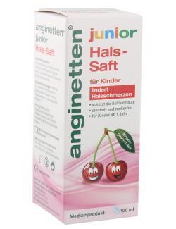 Klosterfrau Anginetten Junior Hals-Saft  (100 ml) - 4008617152408
