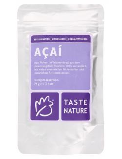 Taste Nature A�ai Pulver  (75 g) - 4250522817860