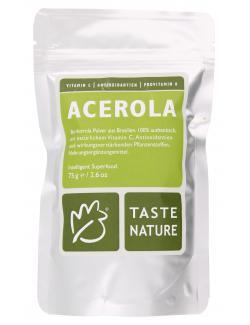 Taste Nature Acerola Pulver  (75 g) - 4250522818126