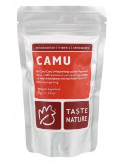 Taste Nature Camu Pulver  (75 g) - 4250522817914
