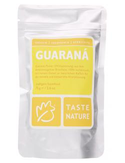 Taste Nature Guaran� Pulver  (75 g) - 4250522818157