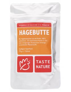 Taste Nature Hagebuttenpulver  (75 g) - 4250522818263