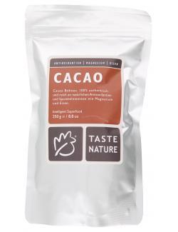 Taste Nature Cacao Bohnen  (250 g) - 4250522829962