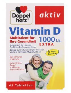 Doppelherz aktiv Vitamin D 1000 i.E. extra  - 4009932007480