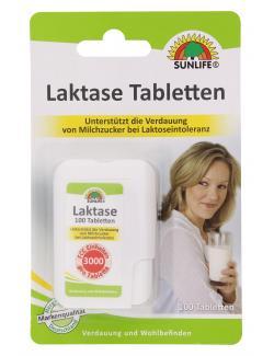 Sunlife Laktase Tabletten  - 4022679124463