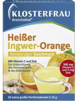 Klosterfrau Broncholind Heißer Ingwer-Orange  - 4008617133872