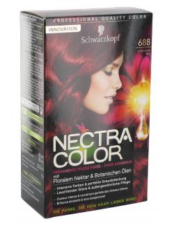 Schwarzkopf Nectra Color Pflege-Farbe 688 intensives Rot  (143 ml) - 4015000982306
