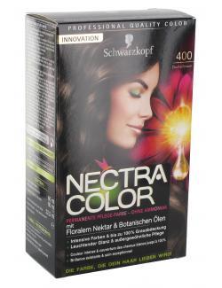 Schwarzkopf Nectra Color Pflege-Farbe 400 dunkelbraun  (143 ml) - 4015000982313