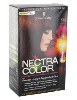 Schwarzkopf Nectra Color Pflege-Farbe 468 schokobraun  (143 ml) - 4015000982344