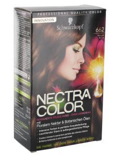 Schwarzkopf Nectra Color Pflege-Farbe 662 nougatbraun  (143 ml) - 4015000982405