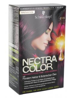 Schwarzkopf Nectra Color Pflege-Farbe 499 intensives Violett-Rot  (143 ml) - 4015000982368
