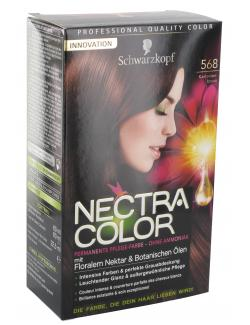 Schwarzkopf Nectra Color Pflege-Farbe 568 kastanienbraun  (143 ml) - 4015000982436