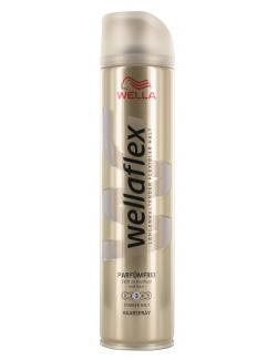 Wella Wellaflex Haarspray Parf�mfrei starker Halt  (250 ml) - 5410076958610