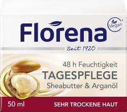 Florena Sheabutter & Argan�l Tagespflege  (50 ml) - 4005900108302