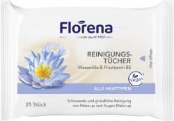 Florena Reinigungstücher  (25 St.) - 4005900108753