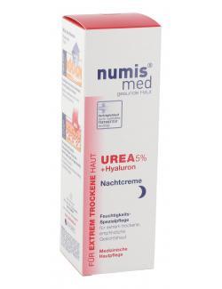 Numis med Urea + Hyaluron Nachtcreme  (50 ml) - 4003583182039