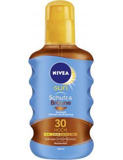 Nivea Sun Protect & Bronze Sonnenspray LSF 30  (200 ml) - 4005900117991
