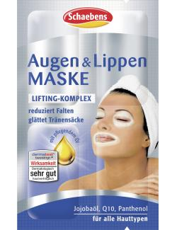 Schaebens Augen & Lippen Maske  (4 x 1,50 ml) - 4003573020143