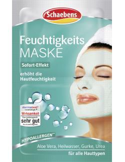 Schaebens Feuchtigkeits Maske  (2 x 5 ml) - 4003573020044